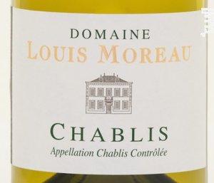 Chablis Domaine Louis Moreau