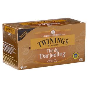 Twinings Darjeeling Tea 25 zakjes voor één kopje.