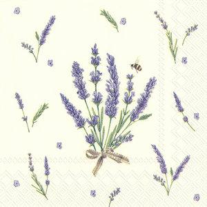 Cocktail/Thee servet Bouquet of Lavender