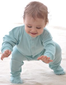 Sleepsuit in Noil Silk
