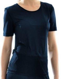 Zijden T-shirt